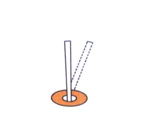 01-You should bend slightly device's leg