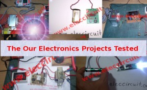 The Our Electronics Projects Tested
