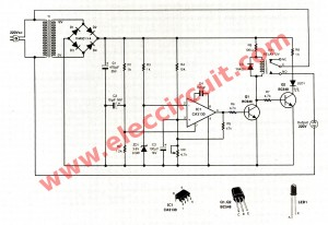 Motor burn out and under voltage protection eleccircuit the schematic of motor burn out and under voltage protection swarovskicordoba Choice Image