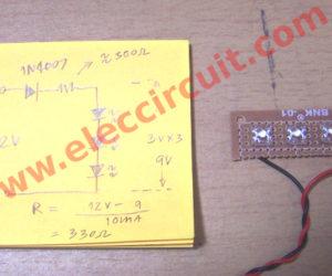 DIY simple 12v led light