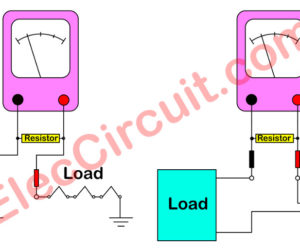 How to use normal multimeter to measure high AC current.