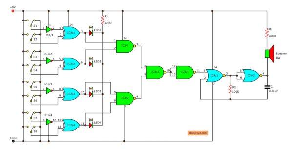 the-circuit-diagram-of-logical-guessing-game-circuit