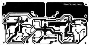 14w stereo OCL TDA2030 PCB layout