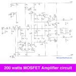200 watt mosfet amplifier circuit
