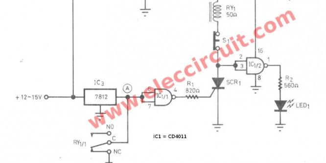 IC regulator protector circuit when load short
