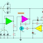 Wien bridge oscillator circuit