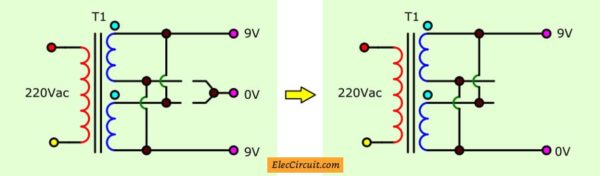 how to modify the transformer to higher output current
