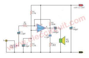 Versatile Power Amplifier TDA2030