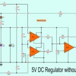 5 volts DC Regulator Without Transformer Using MOSFET