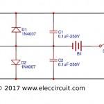 Electric fish shocker circuit