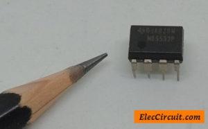 NE5532 dual low noise op-amp photo