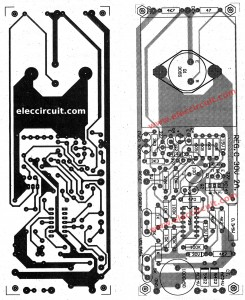the PCB layout and components layout