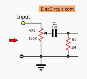Variable resistors that connect as the divider-circuit