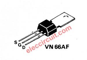 the V-MOSFET no-VN66AF