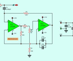 15 Filter circuits using electronic coil