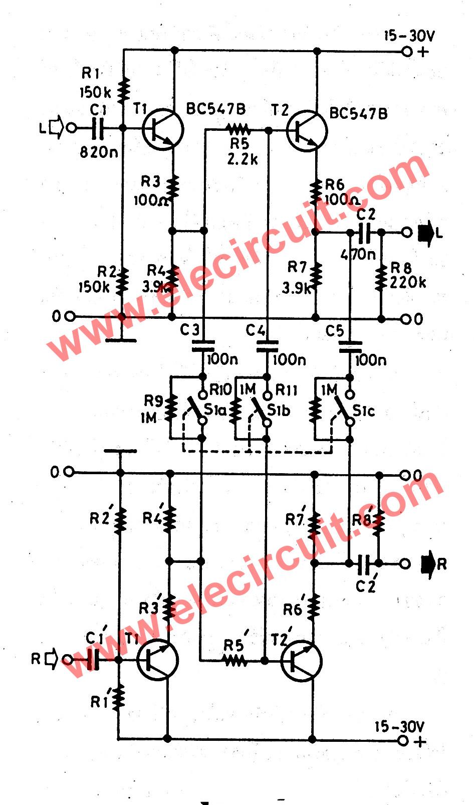 Simple audio noise filter circuit simple audio noise filter circuit for stereo system cheapraybanclubmaster Images