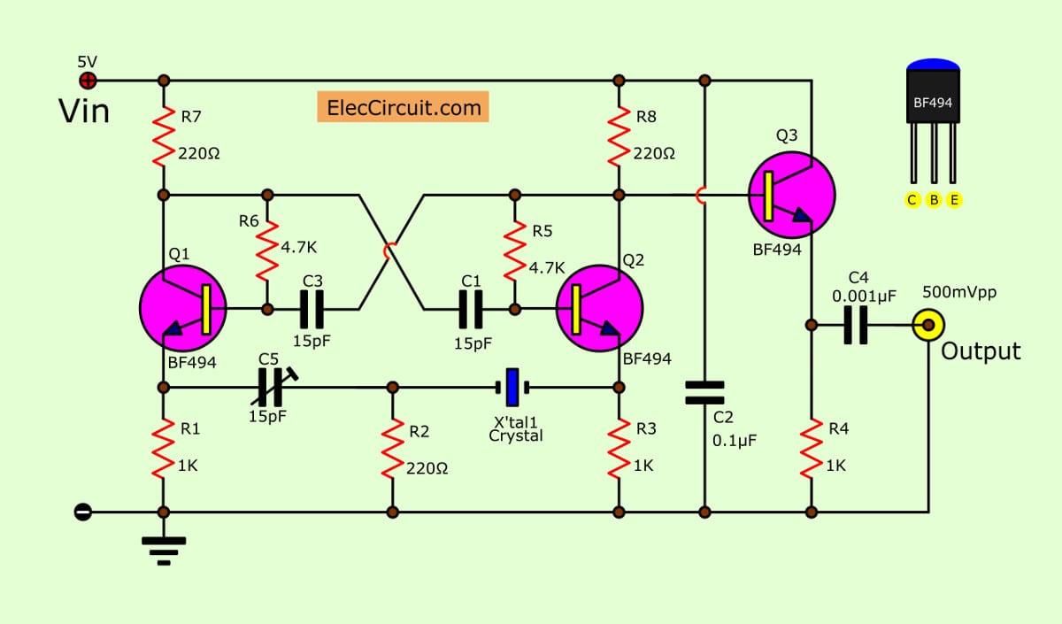 Relaxation Ujt Oscillator Uni Junction Transistors Images Of