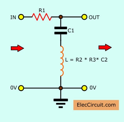 15 Filter circuits using electronic coil | Electronics Projects Circuits