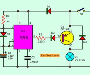 Power Battery Saver Circuit