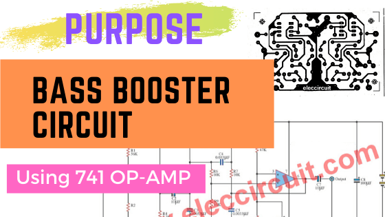 purpose bass booster circuit