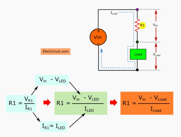 Find Resistor reduce voltage for loads