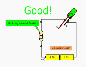 limitting current resistor for small load
