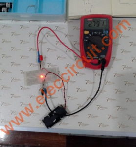 LED cannot get too current