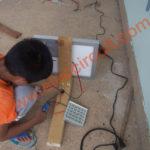 Outdoor solar lights circuits