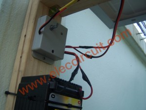 install the solar cell system