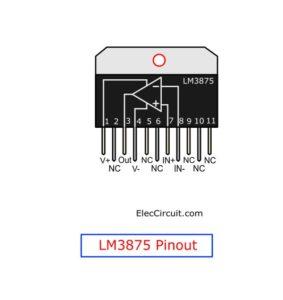 LM3875 Pinout