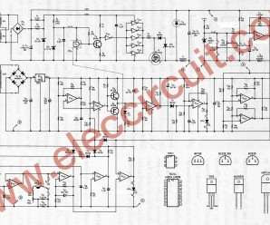 0-45V 8A DC switching power supply circuit