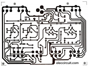 the PCB layout