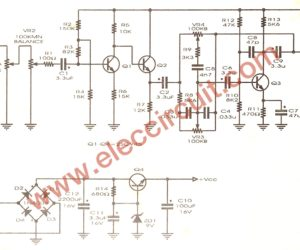 Simple tone control circuit projects for electronic students