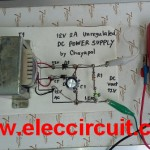 Simple 12V 2A DC power supply by Chayapol