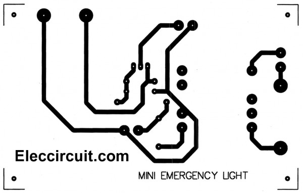 mini emergency light circuits  u2013 electronic projects circuits