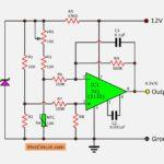 Simple temperature to voltage converter circuit