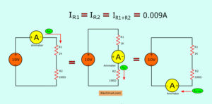 How simple series circuit works