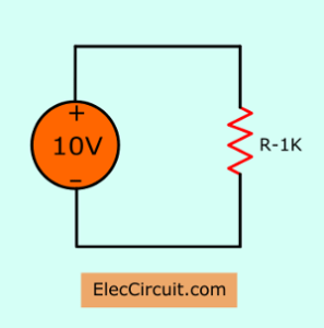 simplest electronics circuit