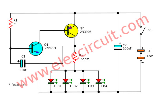 Sensor Projects Light Sensor additionally File Signal analyzer block diagram also Electronic Mailbox Front Door likewise ProjectLED also Napa 552 Flasher Wiring Diagram Relay With Turn Signal In 2 Pin. on led light flasher circuit
