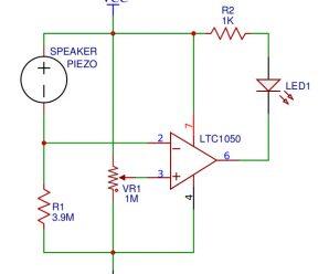 Vibration Sensor Circuit Kit