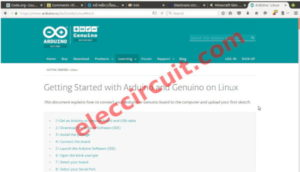 Getting started to learn Install Arduino Software on linux
