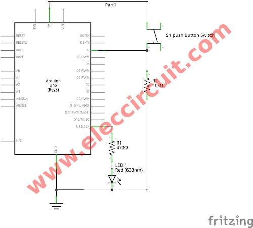 Design Custom menus to switch Arduino outputs on