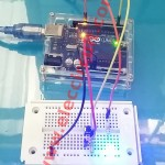The Button become Toggle Switch using Arduino