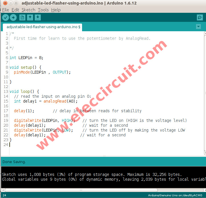 how to write code to arduino in windows
