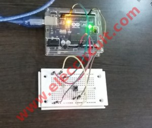 Simple Button Digital Input using Arduino