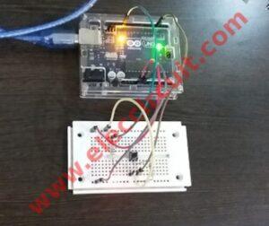 Simple button digital input using arduino