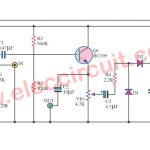 Control sound automatic  circuit using BC109