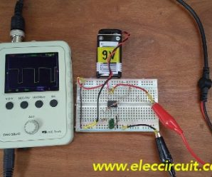 Basic pulse generator using op amp IC-4558