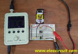 Basic pulse generator using op amp IC-4558