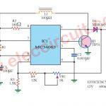 Voltage Regulator 12V 1.5A for Battery Using MC34063